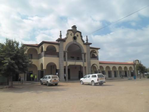 CHUIQUALAQUALA - estação dos comboios