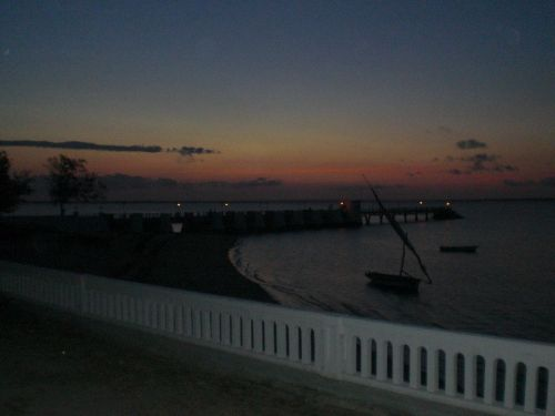 ILHA DE MOÇAMBIQUE - vista ao por do sol
