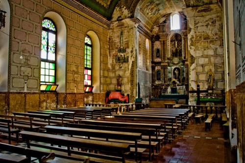 TETE - Interior da igreja de Borona