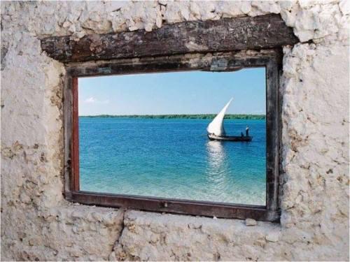 ILHA DO IBO - o mar, visto de uma janela