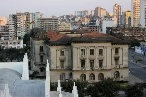 MAPUTO - edificio do Conselho Municipal