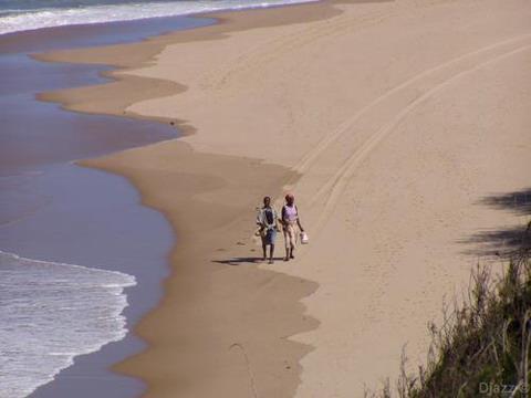 ZAVORA - vista da praia