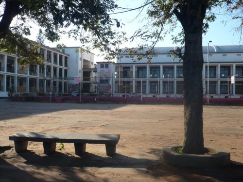 MAPUTO - interior do liceu (ex Salazar)