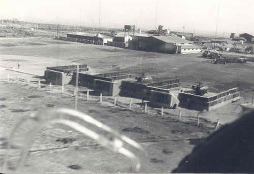 MUEDA - aeródromo em 1975