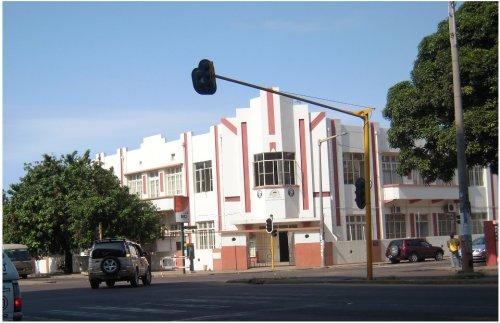 MOÇAMBIQUE - edificio da ex Associação dos Velhos Colonos