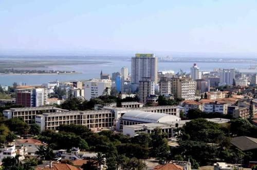 MAPUTO - vista atual da zona do liceu
