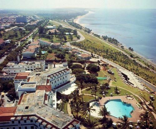MAPUTO - vista parcial da cidade