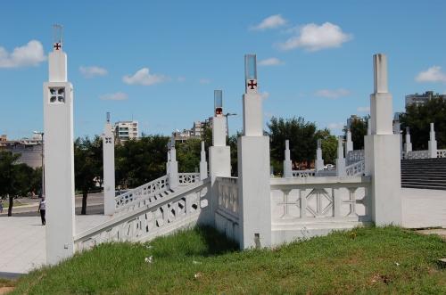 MAPUTO - escadarias da catedral