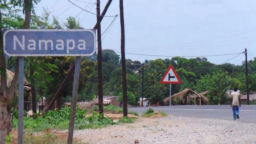 NAMAPA - entrada na localidade