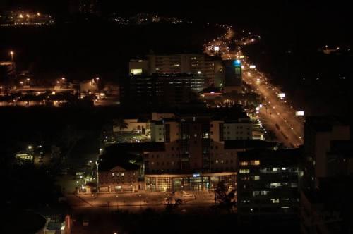 MAPUTO - noite em parte da cidade