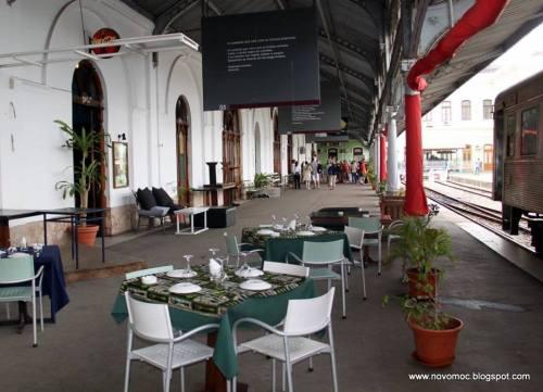 MAPUTO - estação dos caminhos de ferro