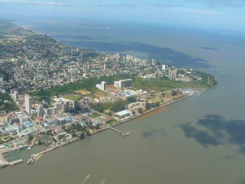 MAPUTO - vista aérea da cidade