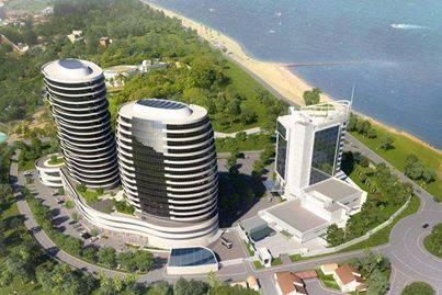 MAPUTO - hotel em construção nesta data