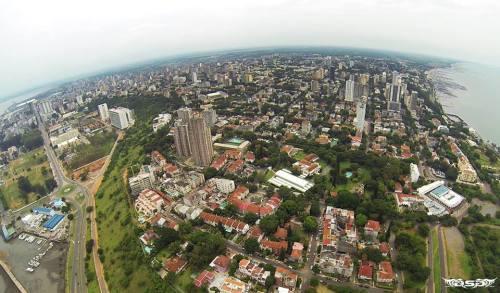 MAPUTO - vista aérea