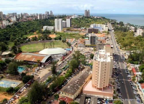 MAPUTO - zona junto aos clubes Maxaquene e Desportivo