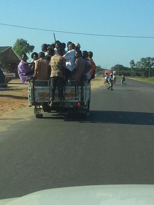 MAPUTO - transporte público