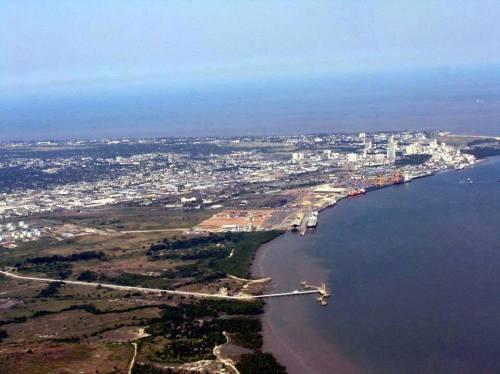 BEIRA - vista aérea da cidade