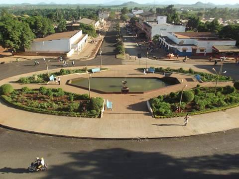 GURUÉ - vista da cidade