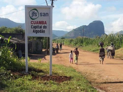 CUAMBA - entrada da localidade