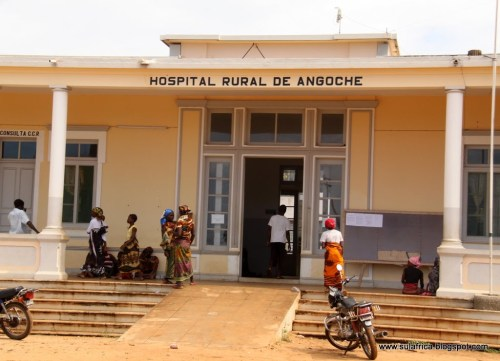 ANGOCHE - hospital da cidade