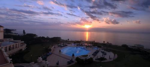 MAPUTO - nascer do sol visto do hotel Polana